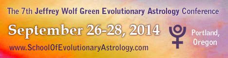7th Jeffrey Wolf Green Evolutionary Astrology Conference Sep 26 - 28 2014
